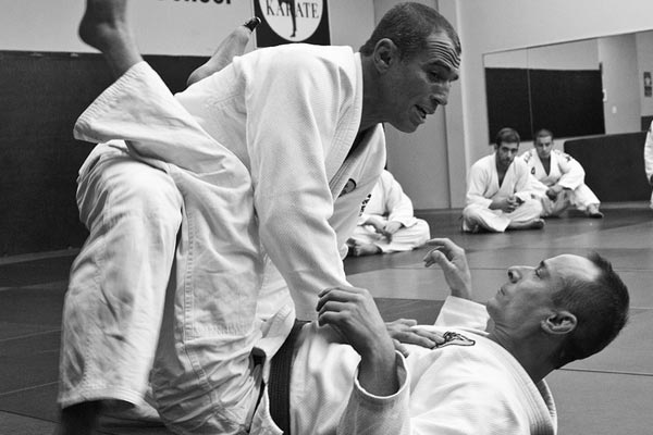 Royler Gracie and Trevor Lewis