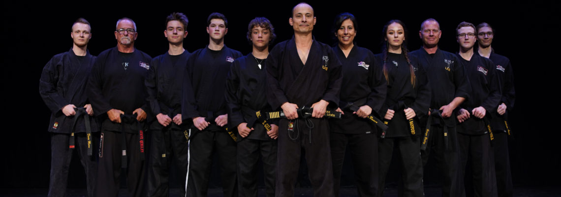 Black Belt Ceremony 2019 Staff Picture